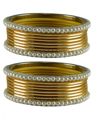 Gold Party Wear Bangles
