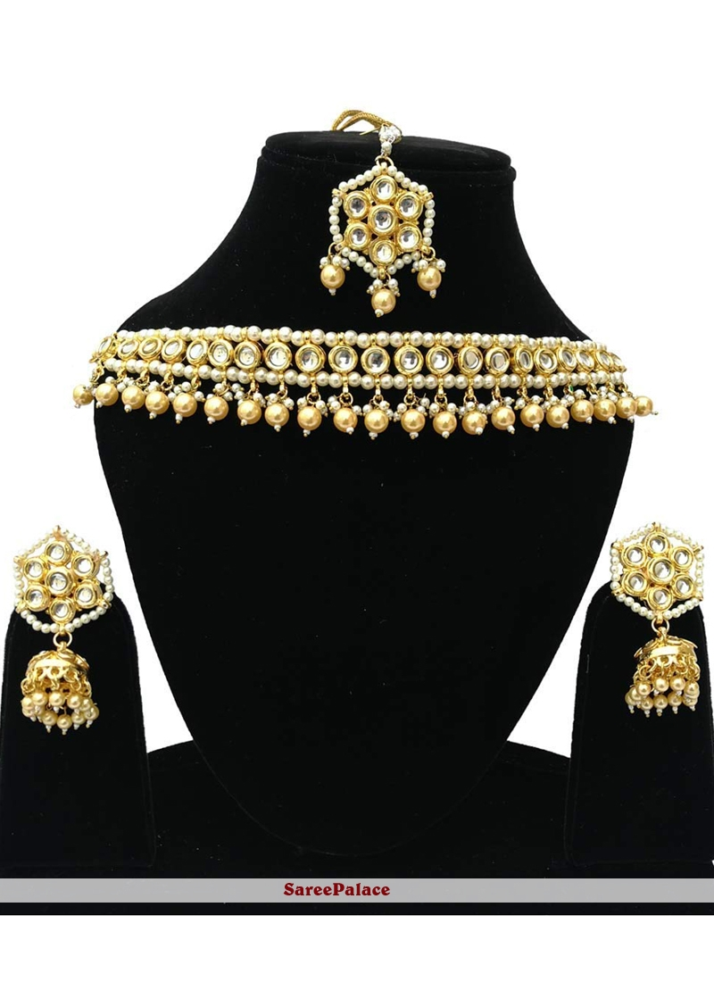 Gold Party Bridal Jewellery