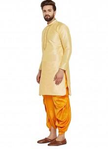 Gold Party Dhoti Kurta