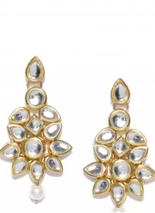 Gold Party Ear Rings