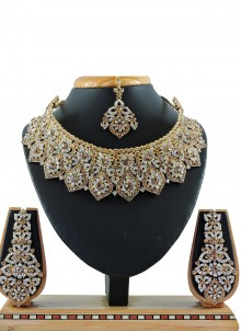 Gold Party Necklace Set