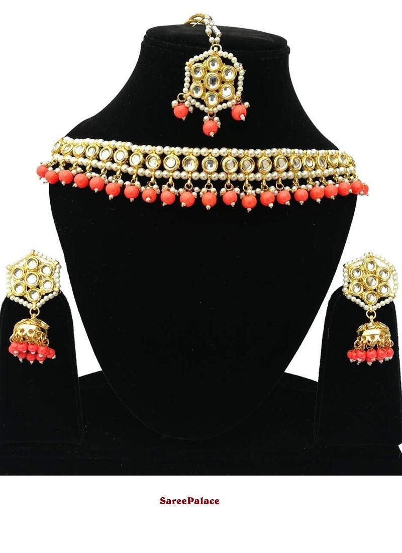 Gold Reception Bridal Jewellery