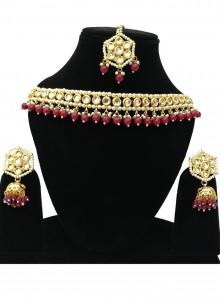 Gold Sangeet Bridal Jewellery