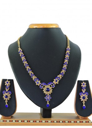 Gold Sangeet Necklace Set