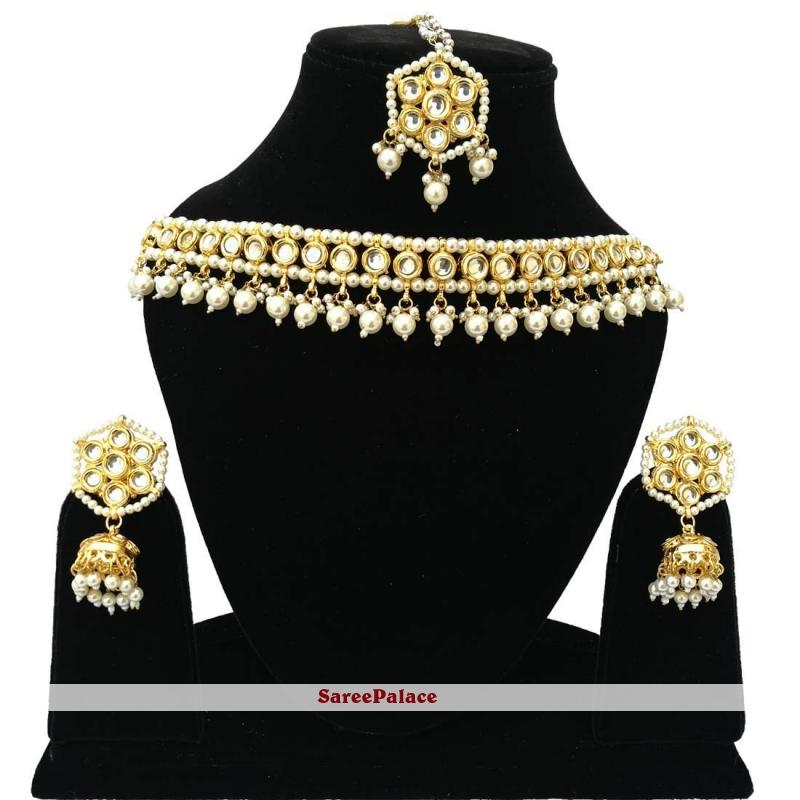 Gold Stone Bridal Jewellery