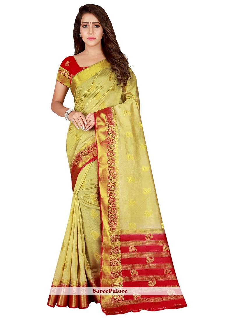 Gold Traditional Saree