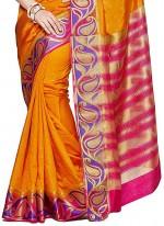 Gold Zardosi Work Classic Designer Saree