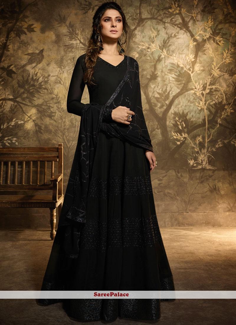 Black Color Anarkali Salwar Suit