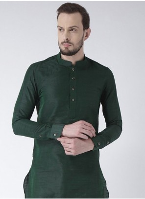 Green Color Kurta