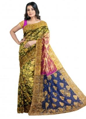 Green Kanjivaram Silk Designer Saree