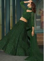 Green Lehenga Choli