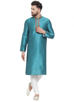Green Mehndi Kurta Pyjama
