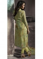 Green Print Pant Style Suit