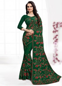 Green Reception Classic Designer Saree