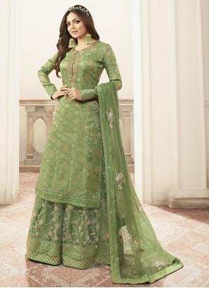 Green Reception Designer Salwar Kameez