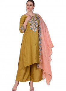 Green Resham Wedding Designer Suit