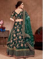 Green Silk Lehenga Choli