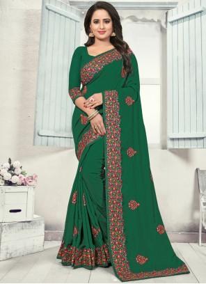 Green Silk Silk Saree