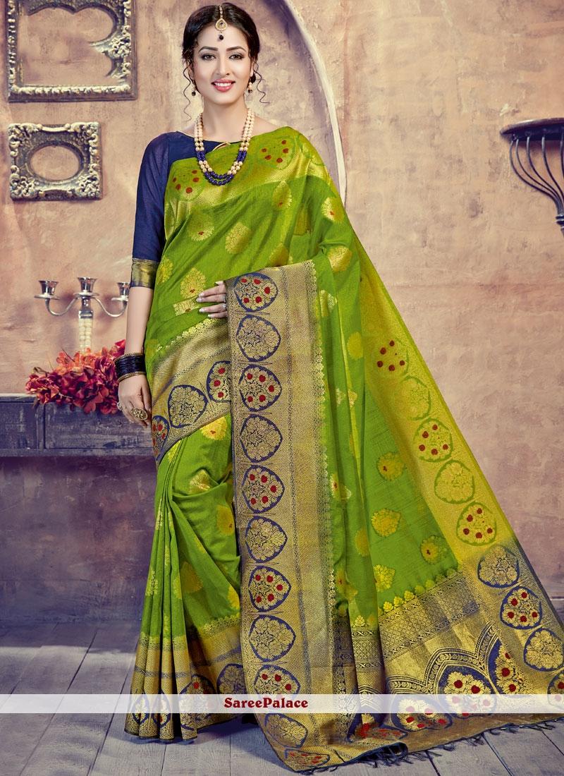 Green Wedding Designer Traditional Saree