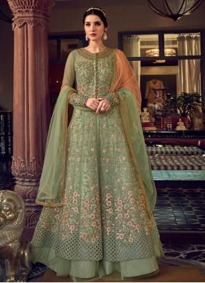 Green Wedding Trendy Lehenga Choli