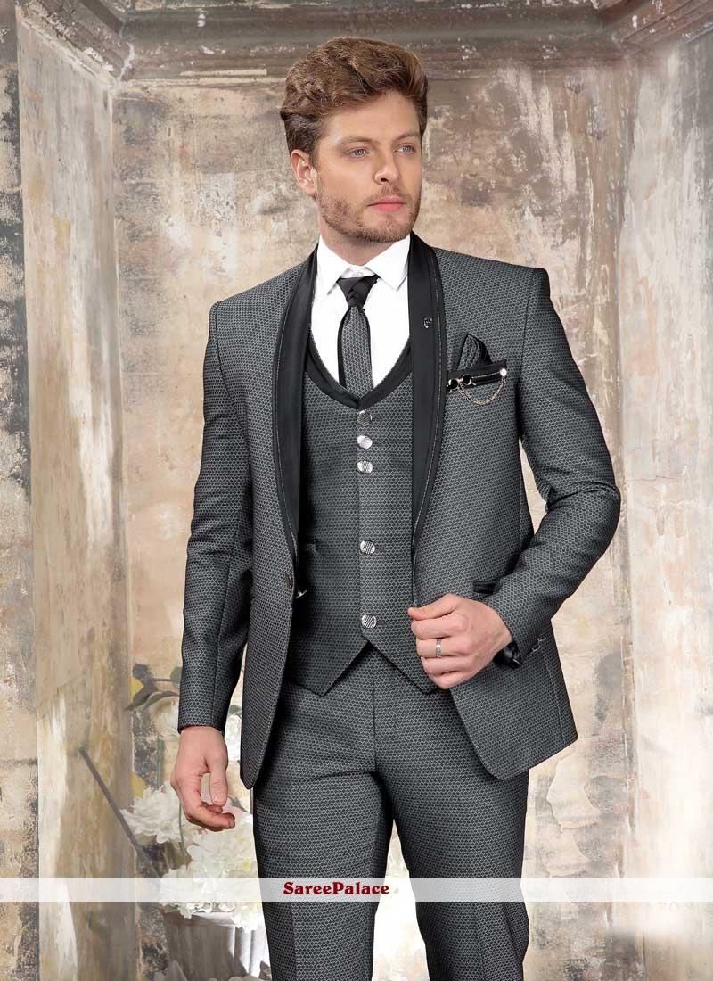 Grey Color Coats & Blazers