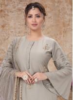 Grey Festival Trendy Salwar Suit