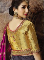 Grey Zari Sangeet Trendy Lehenga Choli