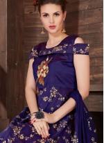 Gripping Silk Anarkali Salwar Kameez