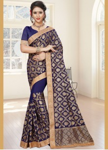 Groovy Faux Georgette Classic Saree