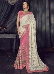Half N Half  Saree For Mehndi