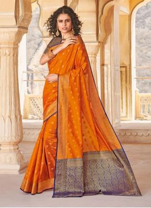 Handloom silk Weaving Classic Saree