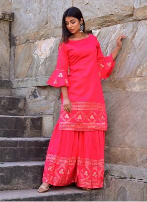 Handwork Jamawar Silk Designer Kurti