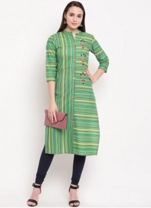 Handwork Multi Colour Designer Kurti