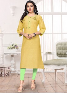 Handwork Party Wear Kurti