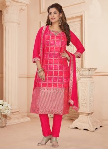 Hot Pink Readymade Suit