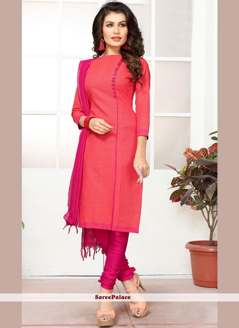 bca8f6f803 Buy Hypnotic Hot Pink Salwar Kameez Online