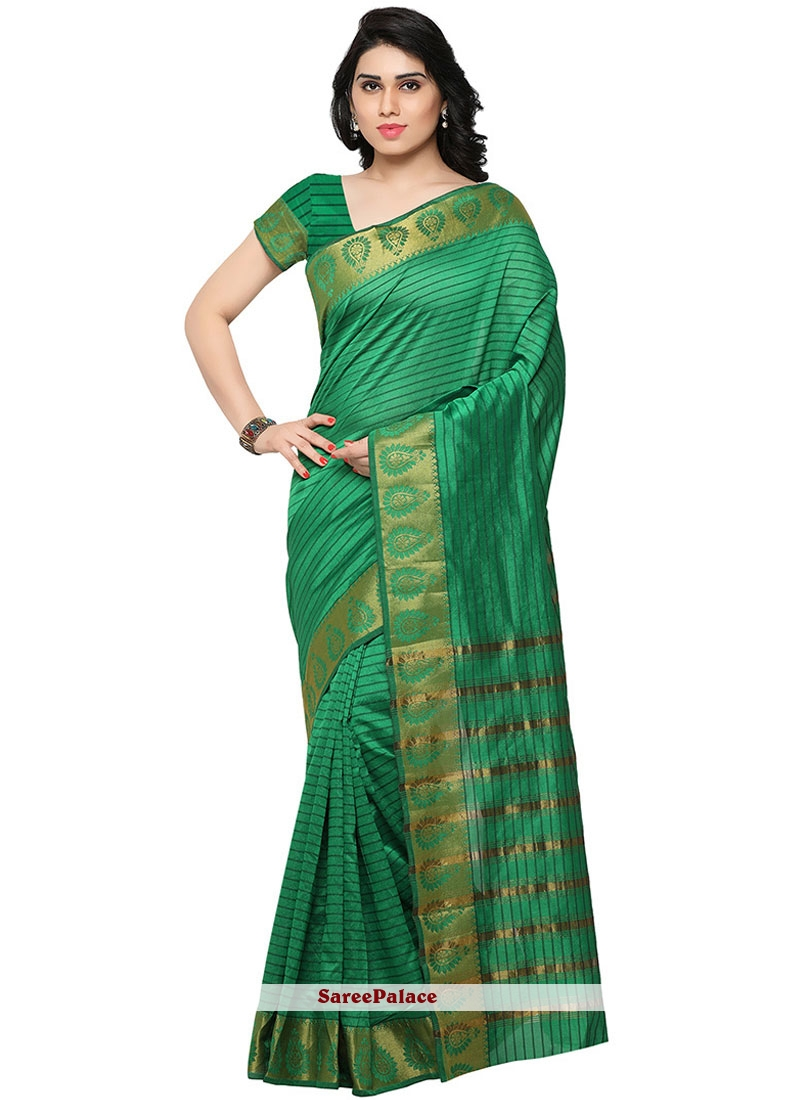 Ideal Banarasi Silk Weaving Work Traditional  Saree