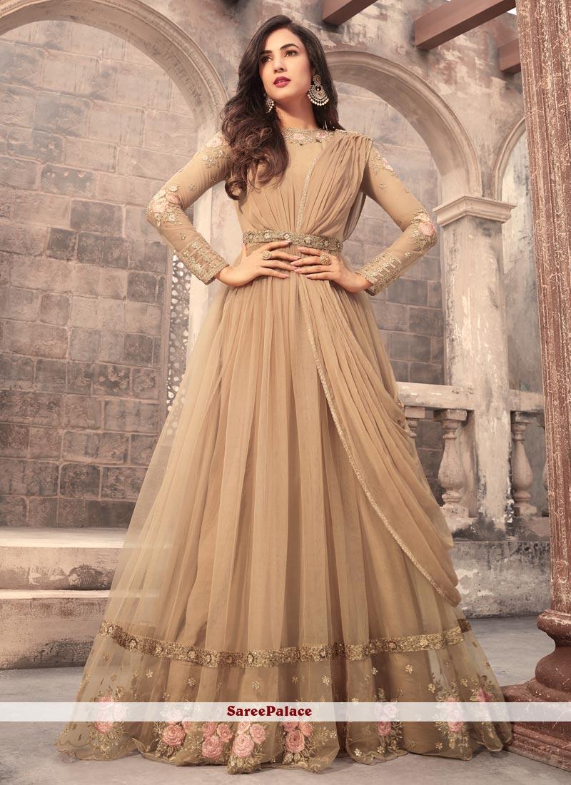 f641a0a454 Buy Impeccable Net Floor Length Anarkali Suit Online