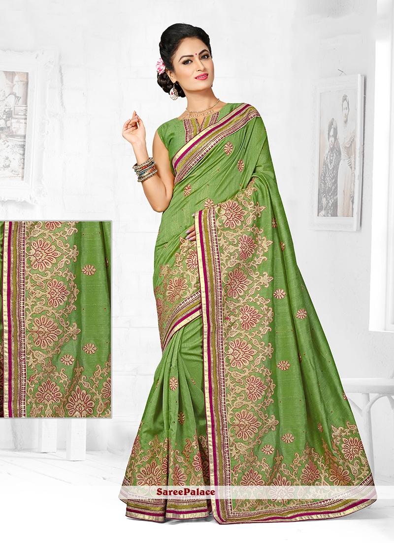 Innovative Zari Work Designer Traditional Saree