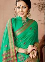 Intricate Cotton Silk Traditional  Saree