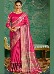 Intricate Silk Designer Saree