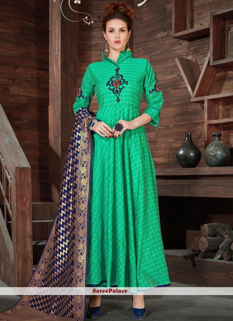 Irresistible Zari Work Anarkali Salwar Kameez