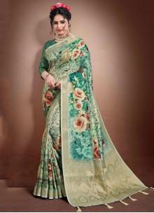 Jacquard Wedding Classic Designer Saree