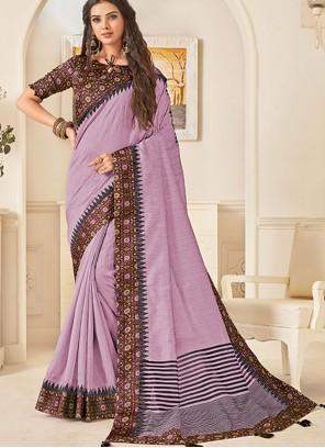 Jute Silk Print Traditional Designer Saree