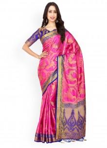 Kanchipuram silk Classic Designer Saree