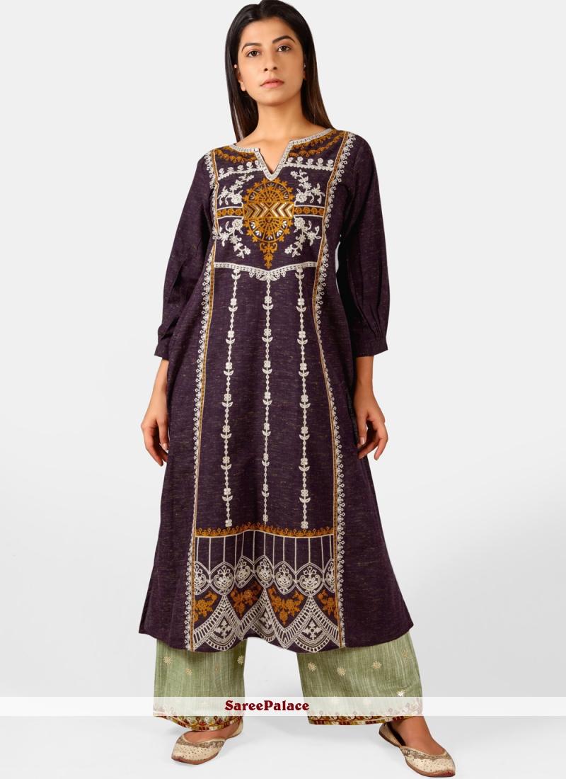 Cotton Multi Colour Designer Kurti