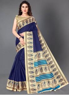 Cotton Silk Casual Casual Saree