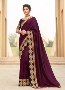 Lace Rani Contemporary Saree