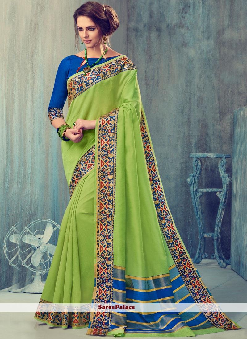 Latest Art Silk woven Work Traditional  Saree