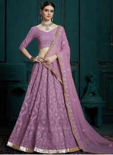 Lavender Ceremonial Trendy Lehenga Choli